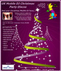 Christmas Party Disco Site